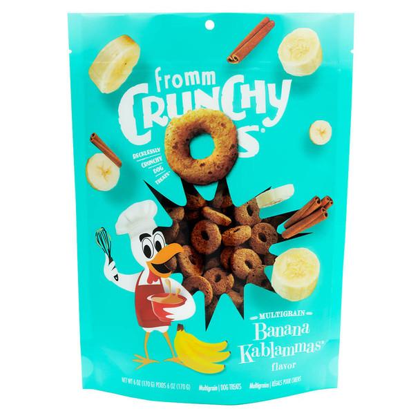Fromm Crunchy O's Banana Kablammas Dog Treats