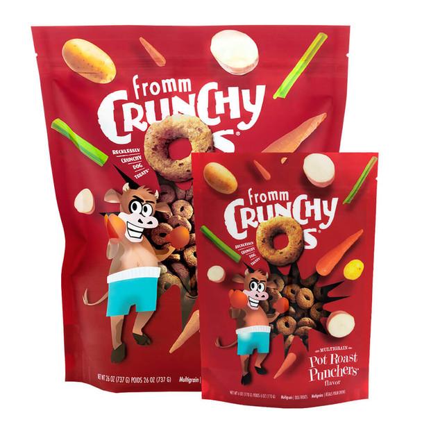 Fromm Crunchy O's Pot Roast Punchers's Dog Treats