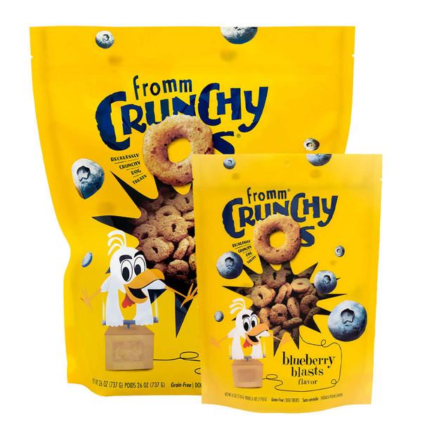 Fromm Crunchy O's Blueberry Blast Dog Treats