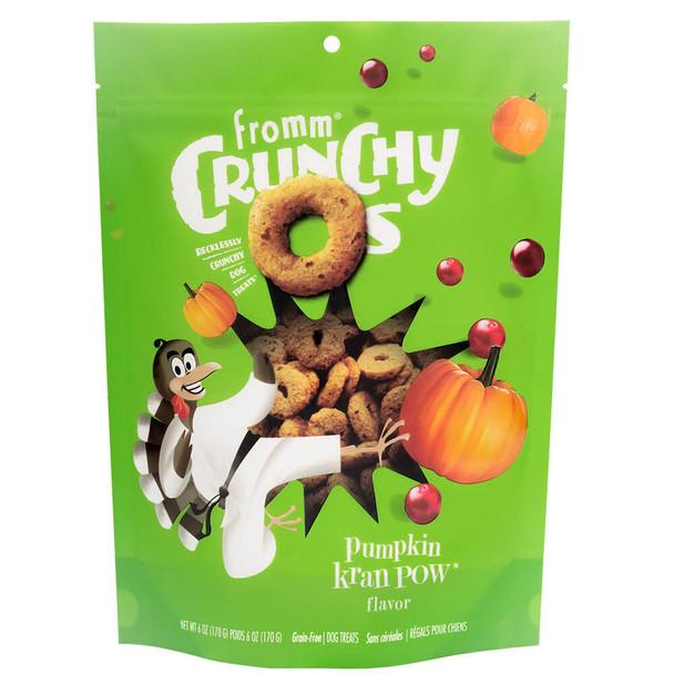 Fromm Crunchy O's Pumpkin Kran Pow Dog Treats
