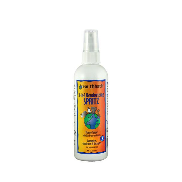 earthbath® 3-IN-1 Mango Tango® Deodorizing Spritz Made in USA 8 oz