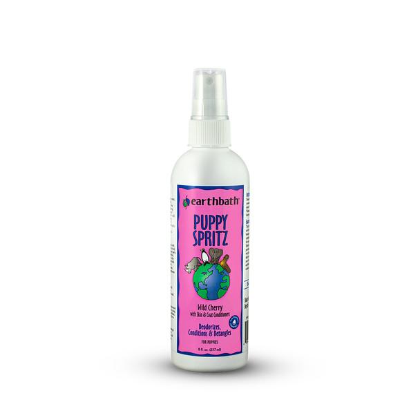 earthbath® Wild Cherry Puppy Spritz Made in USA 8 oz