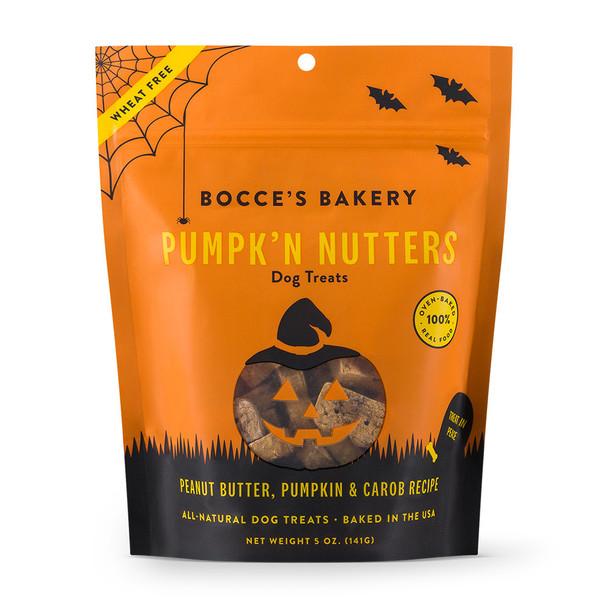 Bocce's Bakery Pumpk'n Nutters Dog Treats 5oz