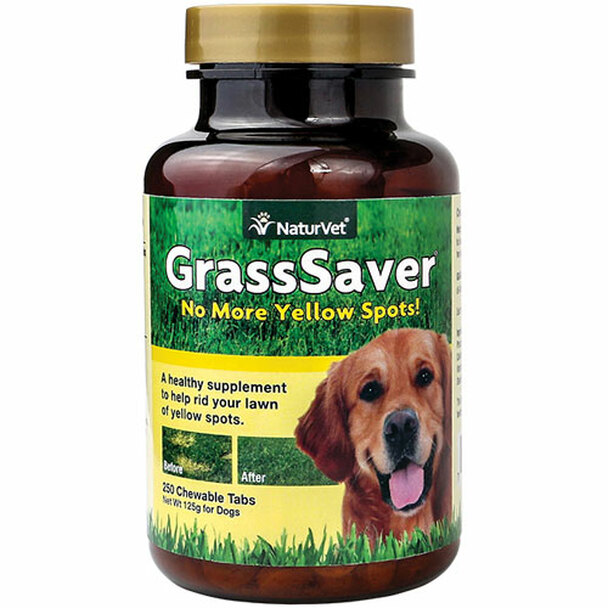 NaturVet GrassSaver Natural Food Supplement Tablets 250ct