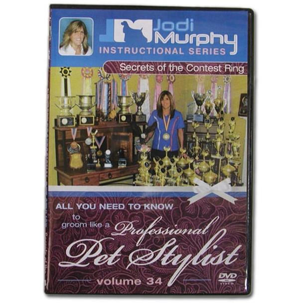 Secrets of the Contest Ring DVD by Jodi Murphy