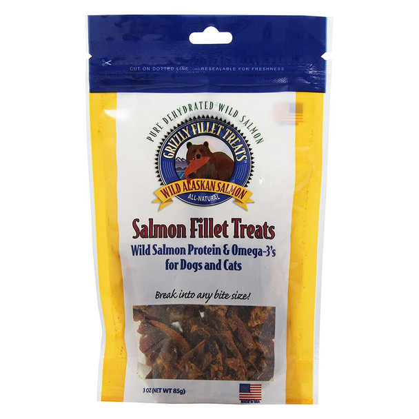 Grizzly Salmon Fillet Treats 3oz