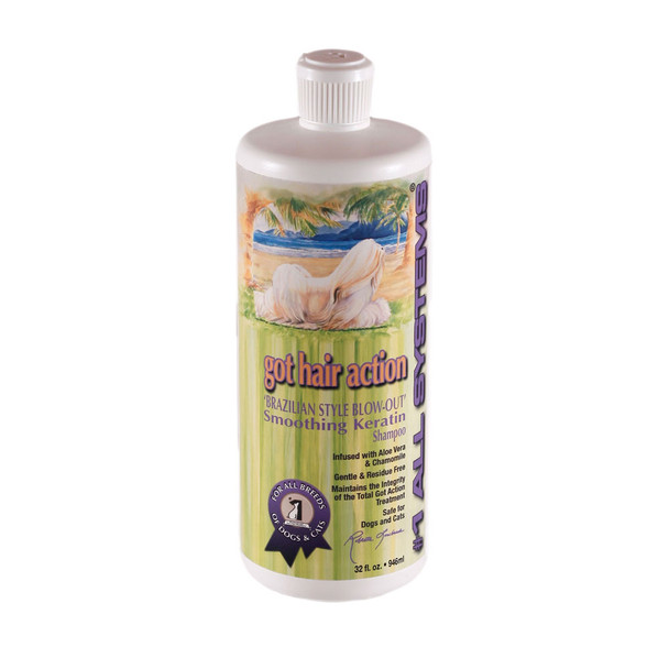 All Systems Got Hair Action Brazilian Style Blowout Kertain Shampoo 32oz