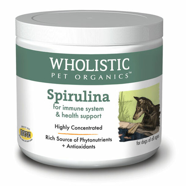 Wholistic Pet Spirulina 4oz