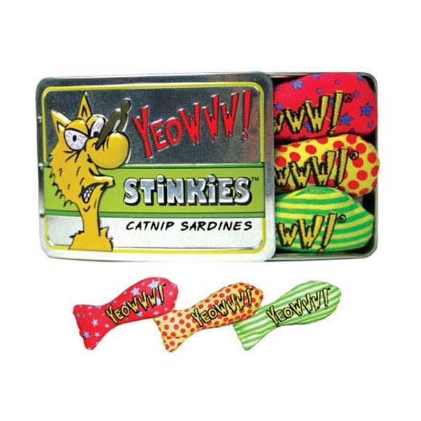 Yeowww Catnip Tin of Stinkies