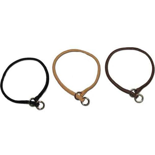 Midnight Pet Products Lightweight Braided Nylon Choke Collars
