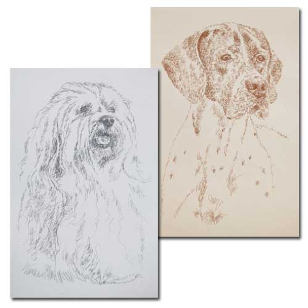 Breed Lithographs by Kline
