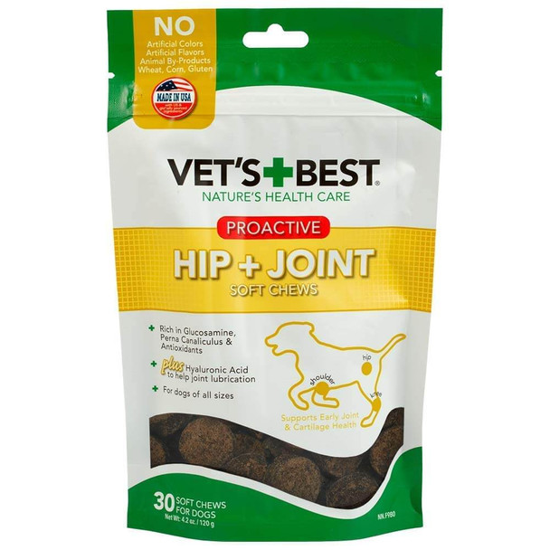 Vets Best Proactive Hip and Joint Soft Chews