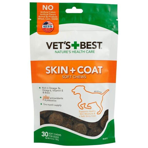 Vets Best Skin and Coat Soft Chews