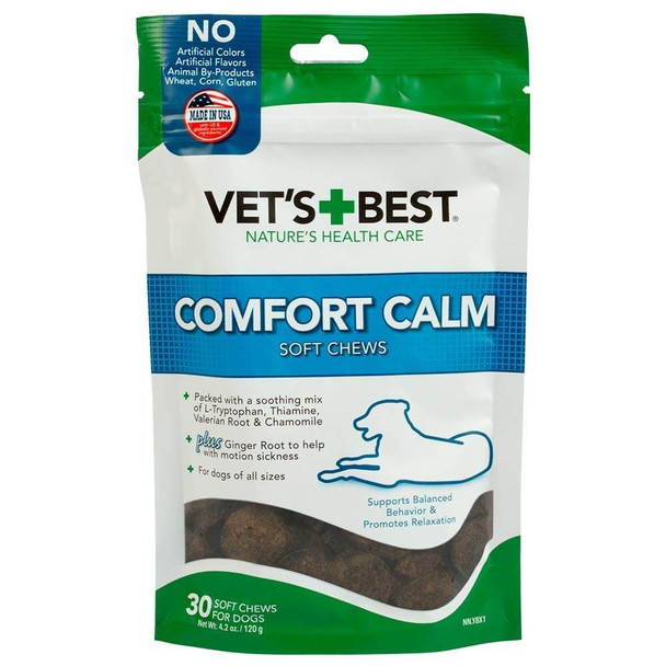 Vets Best Comfort Calm Soft Chew