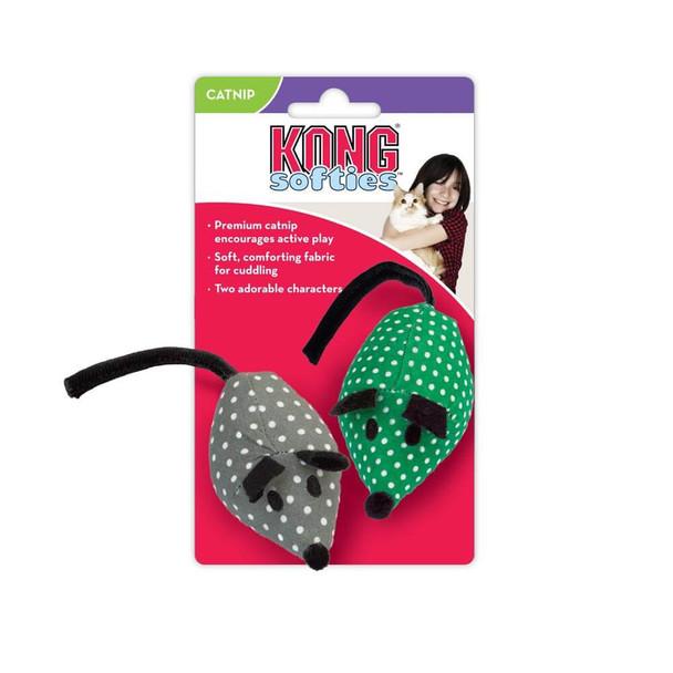 KONG Catnip Mice 2 Pack