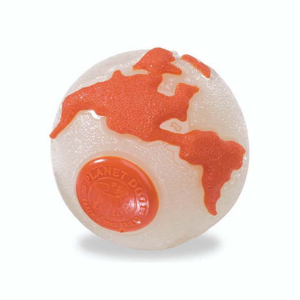 Planet Dog Glow Orbee Ball with Treat Spot
