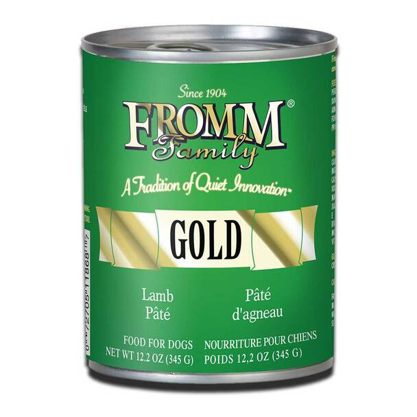 Fromm Gold Lamb Pate Dog Food 12.2 ounce can Case of 12