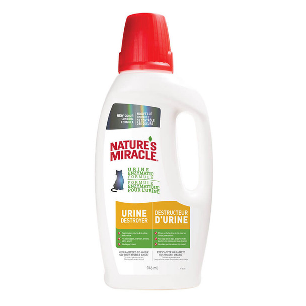Natures Miracle Cat Urine Destroyer 32oz