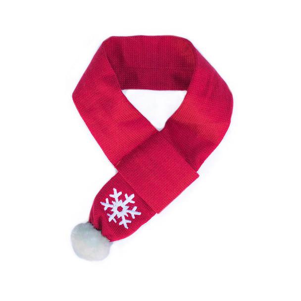 ZippyPaws Snowflake Scarf