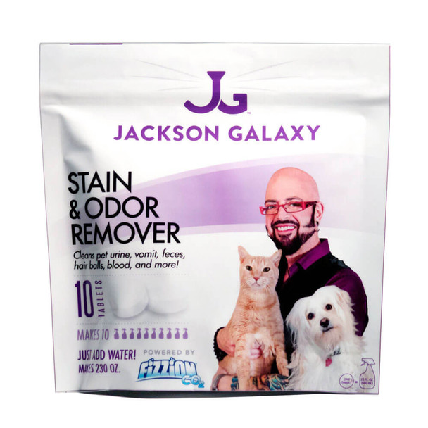 Jackson Galaxy Stain and Odor Remover 10 Tablet Refill