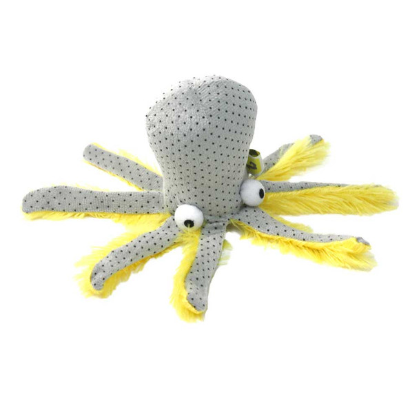 BeOneBreed Octopus Plush Cat Toy