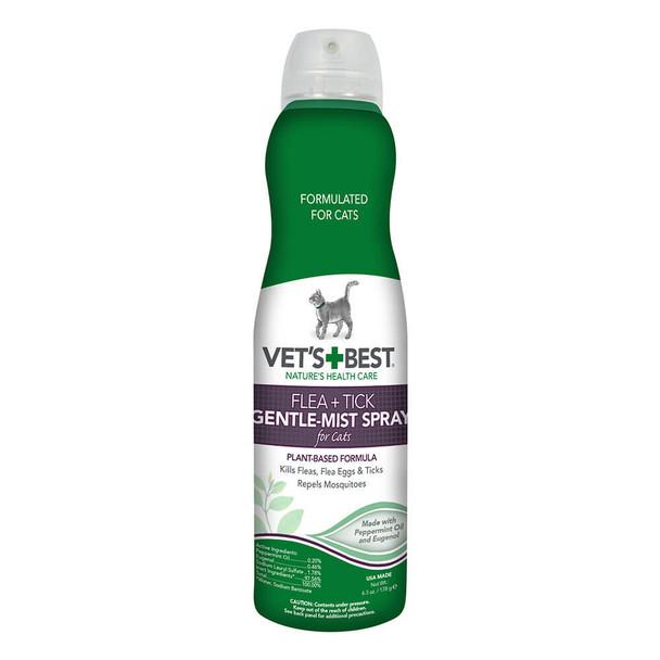 Vets Best Flea and Tick Gentle Mist Spray for Cats