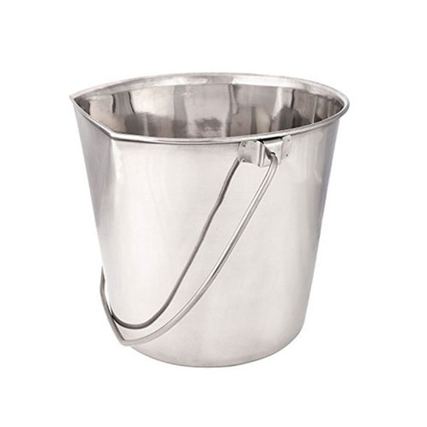 Indipets Flat Back Pail with No Hooks