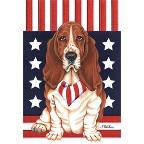 Patriotic Dog Breed Flags Full Size