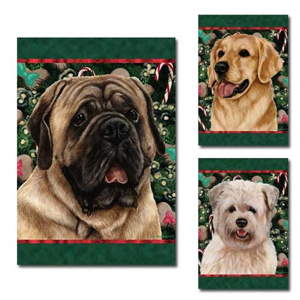 Holiday Treats Dog Breed Flags