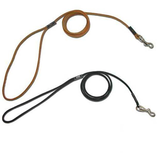 Cherrybrook Shoestring Leather Lead