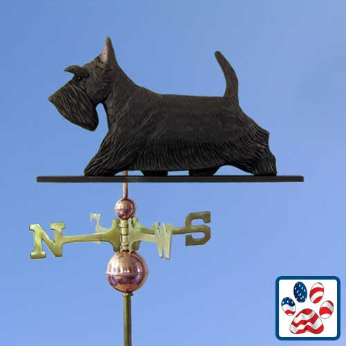 BLACK Scottish Terrier Weathervane by Michael Park