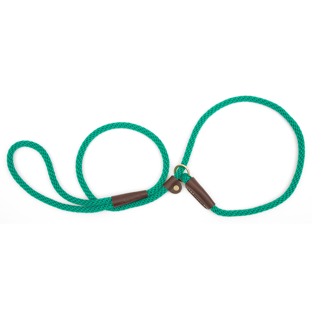 Mendota British Slip Lead 3 eighths inch x 4 feet Kelly Green