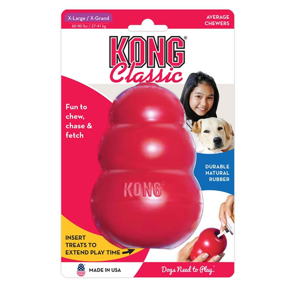 KONG Classic Rubber Dog Toy X-Large