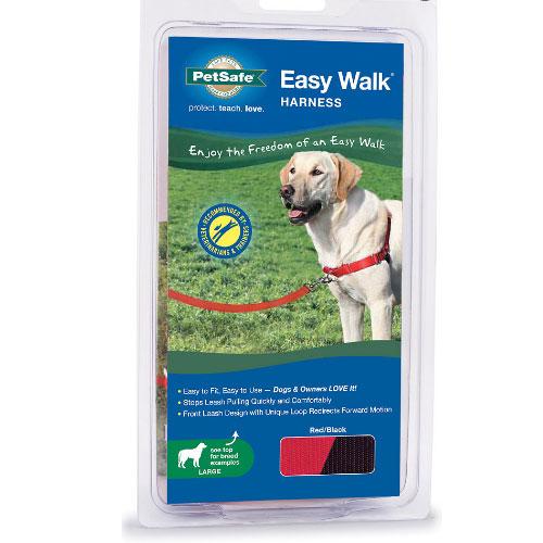 Gentle Leader Easy Walk Harness Large Red
