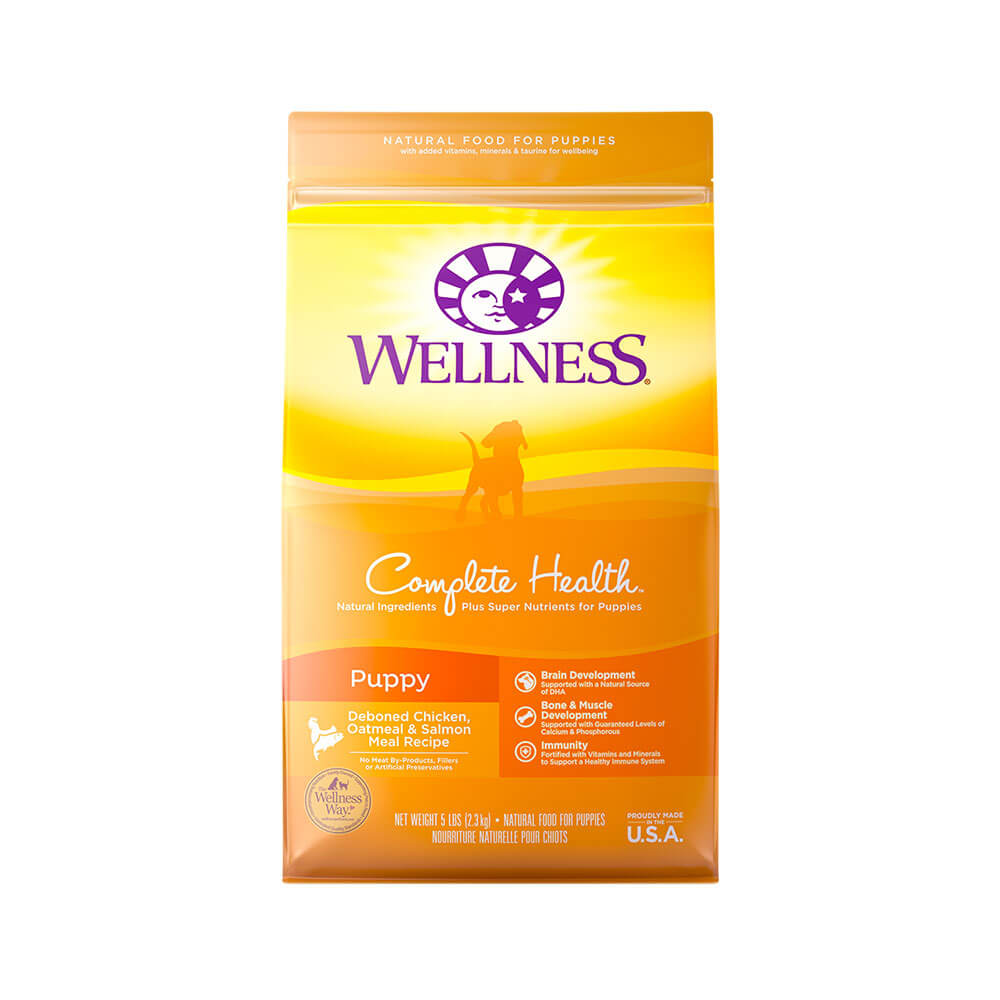 Wellness Complete Health Super5Mix JUST FOR PUPPY Dog Food - 15lbs OVERSIZE