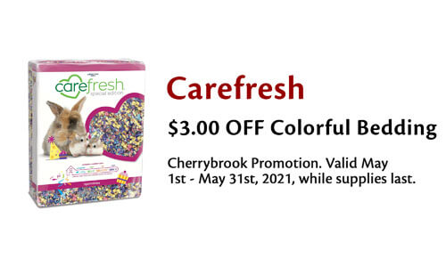 $3 Carefresh Colorful Bedding