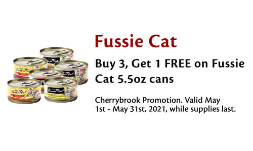Buy 3 Get 1 Free 5.5oz Cans