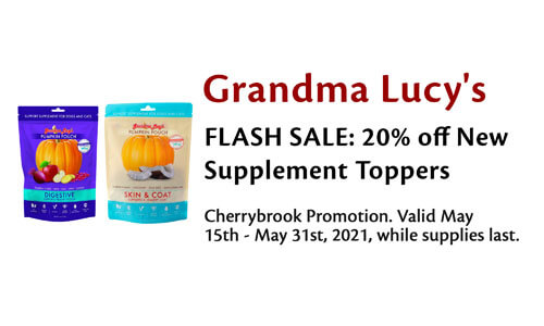 Grandma Lucy's 20% Off Toppers