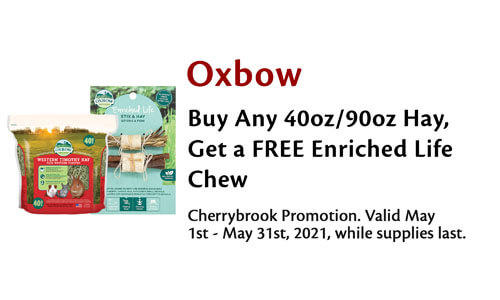 Free Chew With Oxbow Purchase