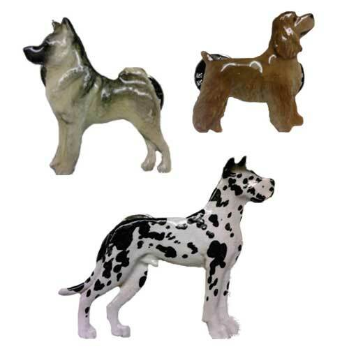 SDISC George Harris Handpainted Pin - Scottish Terrier WHEATEN