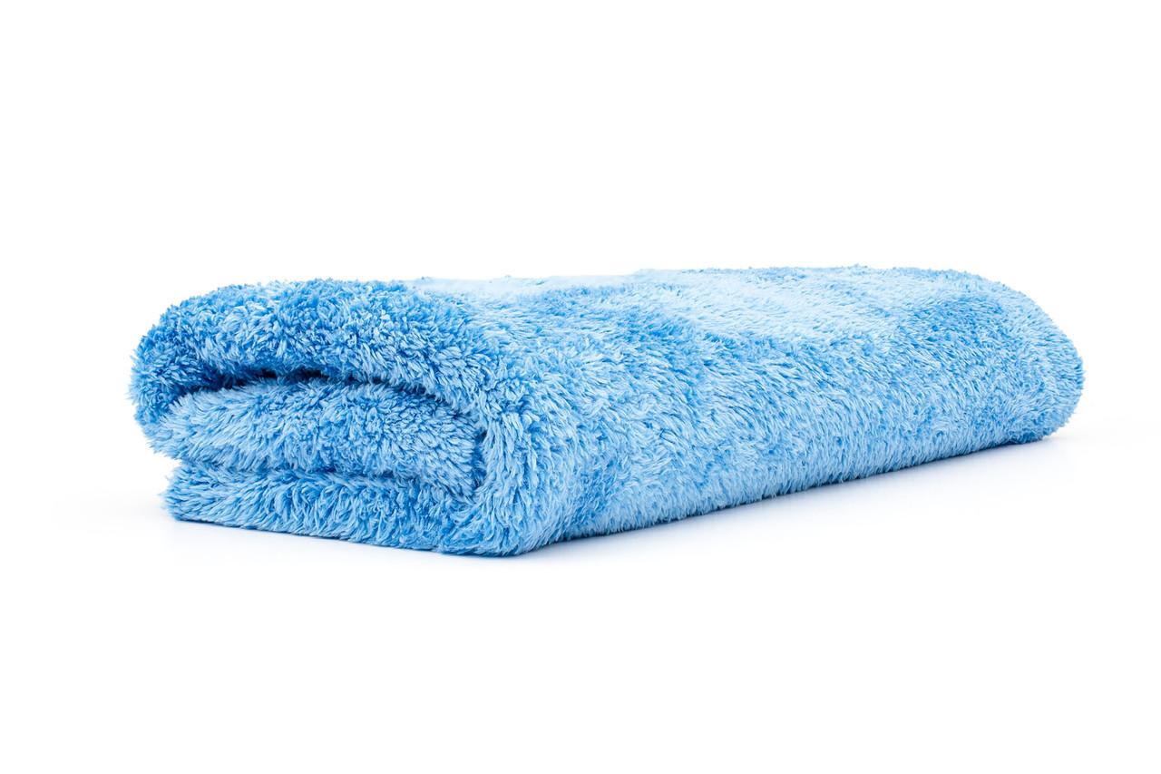Blue Royal Detail Club Waffle Weave Drying Towel 16/″ X 24/″