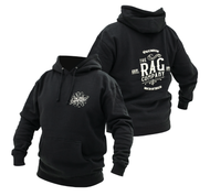 The Rag Company Whiskey Unisex Black HOODIE (RAGCO-WHISKEY-HOODIE)