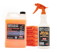 KIT 3: Gallon Bead Maker + One 32oz Bead Maker Sprayer Bottle & Orange Sprayer + Five Orange Eagle Edgeless Towels (9128-BEAD-MAKER-KIT3)
