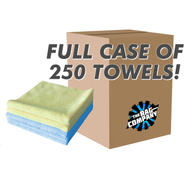 CASE EDGELESS 300 ALL-PURPOSE 16 X 16 TERRY TOWEL (250 COUNT) (51616-E300-CASE)