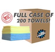 CASE PREMIUM ALL-PURPOSE 16 X 16 TERRY TOWELS (200 COUNT) (51616-PREM-CASE)