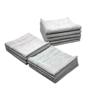 VALUE BUNDLE SILVER-INFUSED MICROFIBER TOWELS (30000-SLVR-BUNDLE)