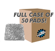 CASE CYCLONE 10X PREMIUM KOREAN MICROFIBER WASH PAD (50 COUNT) (11010-PREM-PAD-GRY-CASE)