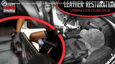 Colourlock: The Best Method For PERMANENTLY RESTORING Leather Car Seats? | MORGAN LEARNS DETAILING