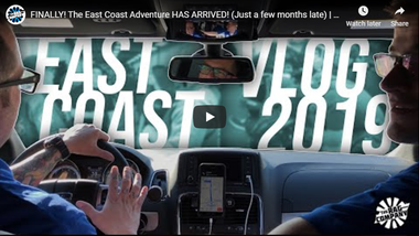 FINALLY! The East Coast Adventure HAS ARRIVED! (Just a few months late)   TRC TRAVEL VLOG