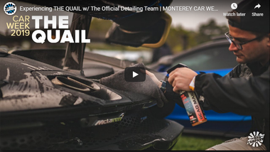 Experiencing THE QUAIL w/ The Official Detailing Team   MONTEREY CAR WEEK 2019